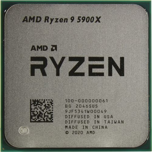 Процессор AMD Ryzen 9 5900X BOX (без кулера)